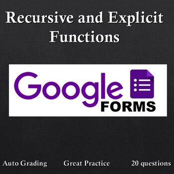 Explicit and Recursive Functions