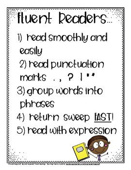 Explicitly Teach Fluency Skills: Beyond Repeated Readings Gr. 2 and Up
