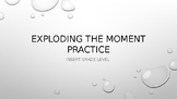 Explode the Moment Writing Activity