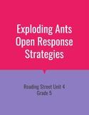 Exploding Ants Open Response Strategies (Reading Street 2011)