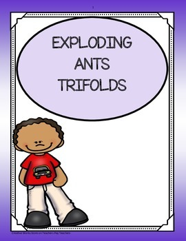 Exploding Ants ( Reading Street 5th Grade) Trifolds