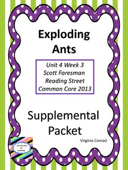Exploding Ants--Supplemental Packet--Reading Street Grade 5