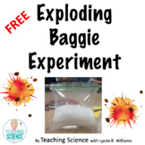 Exploding Baggie FREE Resource