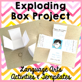 Exploding Box - Upper Elementary Language Arts Projects & Templates