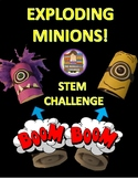 Exploding Minions STEM Challenge using film canisters, Alka-seltzer and water!