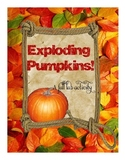 Exploding Pumpkins! Science Lab for Fall