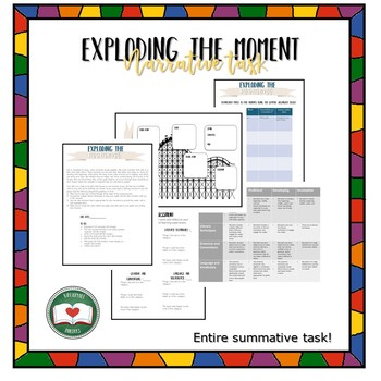 Exploding the Moment Narrative Writing Packet