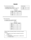 Exploraciones Chapter 2 Review (with Answer Key!)