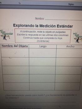 Explorando la Medición Estándar (Standard Measurement)