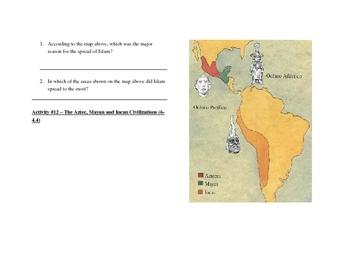 Exploration, Africa, Japan, and Islamic Civilization