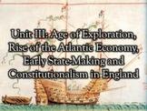 Exploration, Atlantic Economy, Dutch Republic, and English