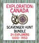 Exploration Canada Super Bundle 15 Resources