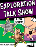 Exploration Talk Show Reader's Theatre Script with Graphic