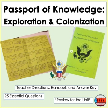 Exploration & Colonization: Passport of Knowledge