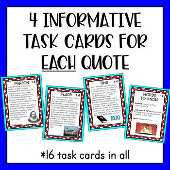 Exploration and Colonization - Task Cards & Literacy Strategies