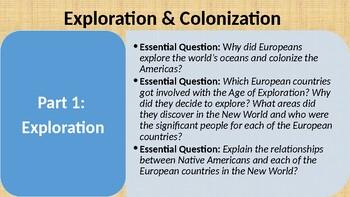 Exploration & Colonization Unit