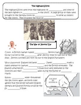 Exploration & Colonization of Georgia Unit