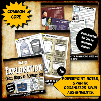 Exploration Complete Unit Bundle: Age of Exploration Lesson PLans