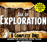Exploration Complete Unit Lesson Set: Age of Exploration L