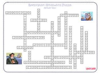Exploration Crossword Puzzle
