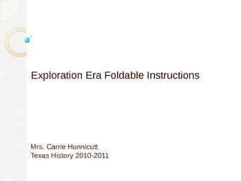 Exploration Era Foldable