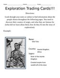 Exploration Figures Trading Cards