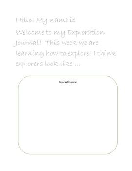 Exploration Journal Introduction Week 1