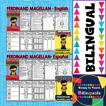 Exploration Mini-Unit 12 - Ferdinand Magellan - Read and Work - Bilingual