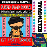 Exploration Mini-Unit 12 - Ferdinand Magellan - Read and Work - Bilingual