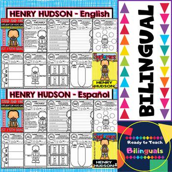 Exploration Mini-Unit 6 - Henry Hudson - Read and Work - Bilingual