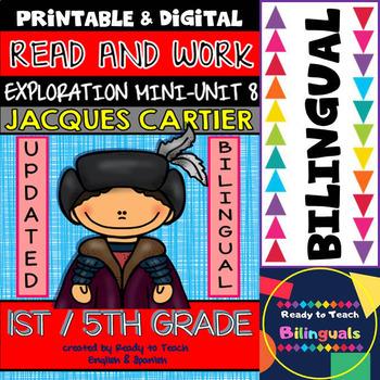 Exploration Mini-Unit 8 - Jacques Cartier - Read and Work