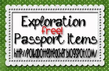 Exploration Passport Items
