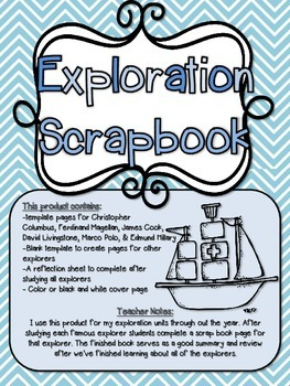 Exploration Scrapbook