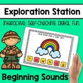 Exploration Station - Beginning Letter Sounds