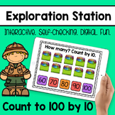 Exploration Station - Count to 100 by tens
