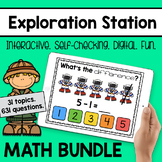 Exploration Station - Digital Math Games [GROWING BUNDLE]