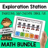 Exploration Station - Digital Math Games *BUNDLE*