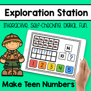 Exploration Station - Make Teen Numbers