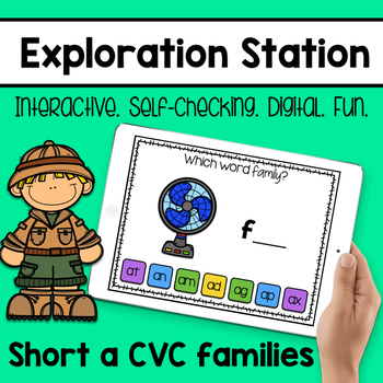 Exploration Station - Short a CVC Families
