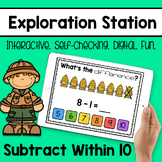 Exploration Station - Subtract Within 10