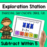 Exploration Station - Subtract Within 5