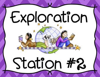 Exploration Stations Social Studies Poster Set