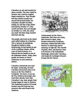 christopher columbus and the columbian exchange