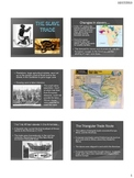 Exploration - The Slave Trade - Powerpoint and Interactive