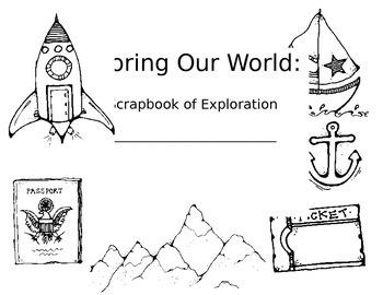 Exploration Unit Scrapbook Cover
