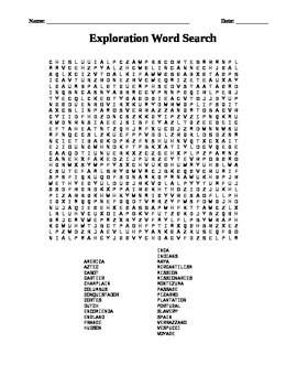 Exploration: Word Search
