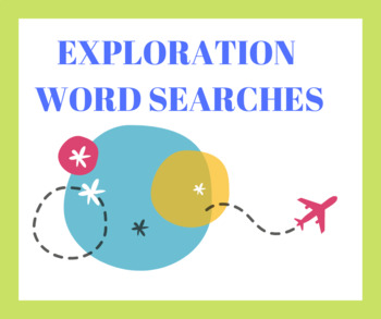 Exploration Word Searches