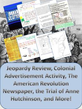 Exploration and Colonization Activity Bundle: 23 Total Activities!