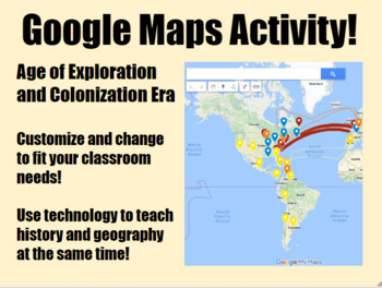 Exploration colonization google maps activity by us history market exploration colonization google maps activity gumiabroncs Gallery