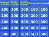 Exploration and Colonization Jeopardy Review Game